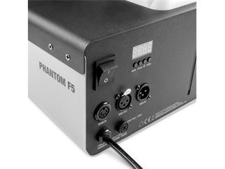 Cameo PHANTOM F5 - Nebelmaschine mit 1500 W Heizleistung und zweifarbiger Tankbeleuchtung