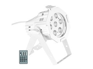 Cameo Studio Mini PAR Q 4W W - 7 x 4 W LED Warmweiß/Kaltweiß weiß
