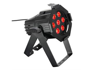 Cameo Studio Mini PAR - 7 x 3 W RGB LED schwarz