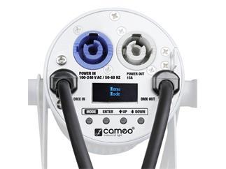 Cameo Q-Spot 15 RGBW WH - Kompakter Spot mit 15W RGBW-LED weiß