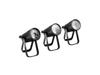 Cameo Q-Spot 15 W - Kompakter Spot mit 15W warmweißer LED schwarz