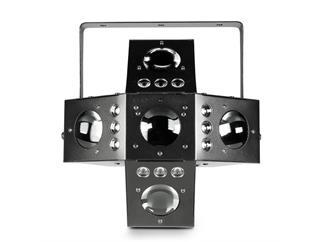 Cameo VOODOO - 2-in-1 Derby- und Strobe-Effekt - 20 x 3W RGBA LEDs