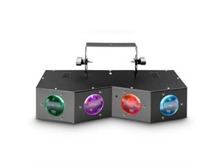 Cameo WAYFARER - Four Eyes Derby - Matrix-Effekt - 16x3W RGBA LED