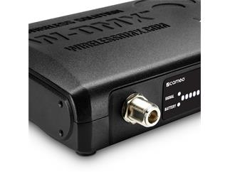 Cameo W-DMX T1 - W-DMX 2.4 GHz Transceiver powered by Wireless Solution