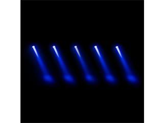 Cameo Zenit B60 C - Akkubetriebener W-DMX IP65 PAR-Scheinwerfer chromfarben