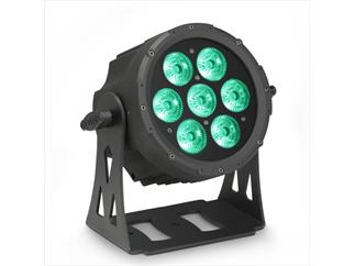 Cameo Outdoor Flat Pro Par Can 7 IP65 - 7x10 W LED RGBWA Schwarz