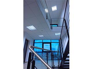 Einlegerasterleuchte Einbau 4x18 W Darklight elektronisch