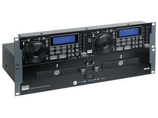 DAP-Audio Core CDMP-2200 19 Zoll Doppel-CD-Player mit USB-Anschluss