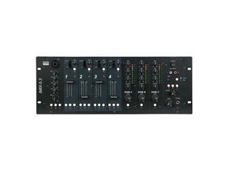 DAP IMIX-5.3, 5 Kanal Installationsmixer, 3 Zonen, 4HE, schwarz