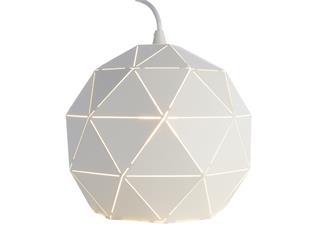 Deko Light Pendelleuchte Asterope rund 250 weiß