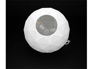 Deko Light Pendelleuchte Asterope rund 500 weiß
