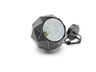 Deko Light Pendelleuchte Asterope rund 250 schwarz