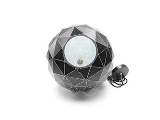 Deko Light Pendelleuchte Asterope rund 400 schwarz