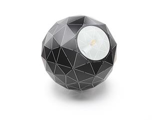 Deko Light Pendelleuchte Asterope rund 500 schwarz