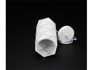 Deko Light Pendelleuchte Asterope linear weiß