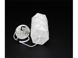 Deko Light Pendelleuchte Asterope linear weiß