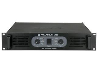 DAP Palladium P-1200, schwarz, 2x600W an 4 Ohm