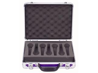 DAP Flightcase Microphone Case für 7 mic´s Bl