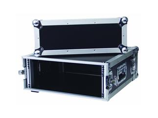 "19"" Rack - Flightcase 4 HE, Double Door"