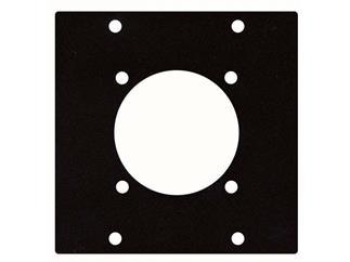 Schutzkontakt Chassis Panel, 44 mm, 2 Segments