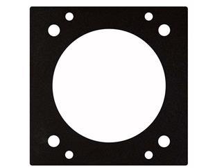 CEE 5 Pin 16 Amp Panel (61,5 mm) 2 Segments