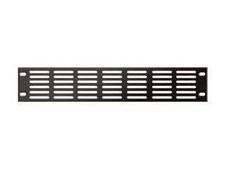 """19"""" Ventilationpanel / Lüftungsblech, 2 HE Metall, 2mm"""