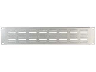 """DAP Audio 19"""" Lüftungsblech, Aluminium, silber, 2HE"""