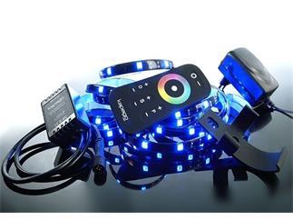 Kapego LED Mixit Set RF 5050-120-RGB-4,0m-Silikon