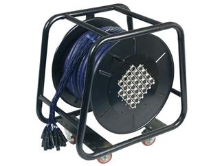 Stagewheel mit Multicable 24 In - 4 Out 30m