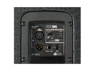 "dBTechnologies FLEXSYS F15, 15""/1"", digital powered speaker, 400W"