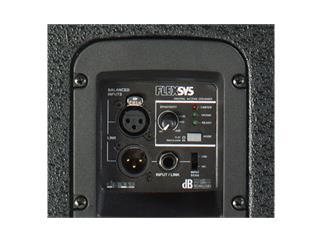 "dBTechnologies FLEXSYS F15, 15""/1"", digital powered speaker, 400W"