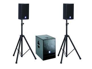 dBTechnologies FLEXSYS Presenter System, 28 + 2x SUB12, 1200W