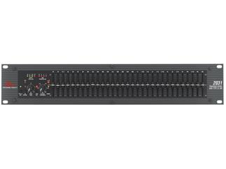 DBX 2031 Grafischer Equalizer, 1x 31-Band, Noise-Reduction und Limiter