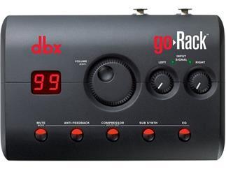 DBX GoRack kompaktes Lautsprecher Managementsystem