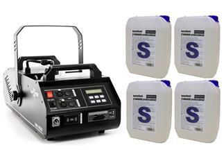 DJPower DSK-3000 Nebelmaschine + 4x 5 Liter Pro Lighting Standard Fluid