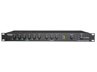 """Denon Professional DN-306XA - 6-Kanal 19"""" Rack Mischpult mit 1-Kanal 120 W Class D Verstärker"""