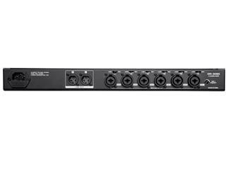 """Denon Pro DN-306X - 6-Kanal 19"""" Rack Mischpult mit Mikrofon Prioritätsschaltung"""