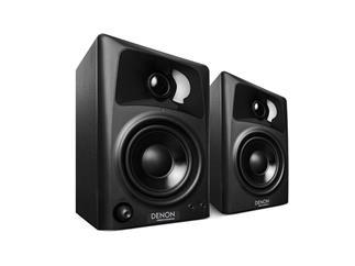 DENON DN-303S (Paar) - Kompaktes 3-Zoll Lautsprecher-System