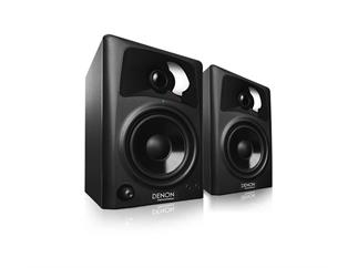 DENON DN-304S (Paar) - Kompaktes 4-Zoll Lautsprecher-System