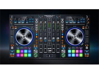 DENON DJ MC 7000 - Professioneller 4-Kanal DJ-Controller für Serato DJ