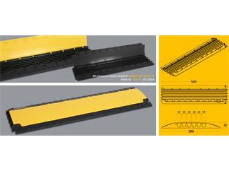 Defender Nano - Kabelbrücke 6 Kanäle mit schwarzem Deckel