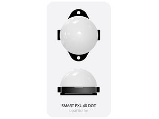 ENTTEC SMART PXL 40 DOT - with DOME Diffusor, Kette mit 50 Dots, 125mm Pitch