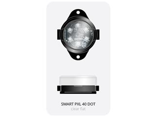 ENTTEC SMART PXL 40 DOT - with FLAT Diffusor, Kette mit 50 Dots, 125mm Pitch