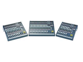 Soundcraft EPM 8 Live & Recording Mixer, 2x Stereo und 8x Mono