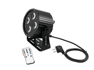 Set 4x Eurolite LED PS-4 HCL Spot + SB-4 Soft-Bag