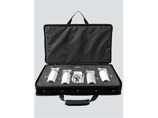 ChauvetDJ EZpinPack 4, 4erSet mit Fernbedienung, Ladegerät und Tragetasche