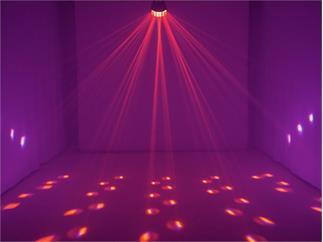 EUROLITE LED D-25 Strahleneffekt 2x18 Watt HCL RGBAW-UV
