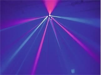 EUROLITE LED Z-20 Strahleneffekt 6x3W RGBAW-UV
