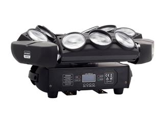 FLASH SPYDER Moving Head LED 9x10W RGBW (3-seitig)