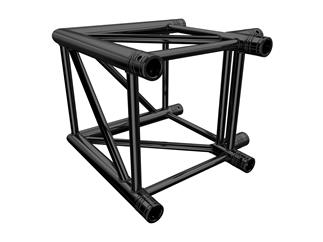 Global Truss F44 P 2-Weg Ecke C21 90° stage black